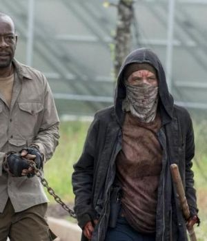 "Morgan en ""The Walking Dead"""
