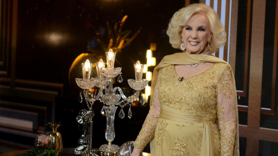 La salud de Mirtha Legrand.