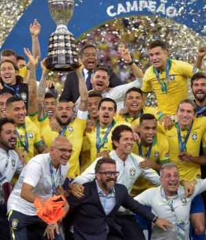 La final de la Copa América se quedó con el rating del domingo.