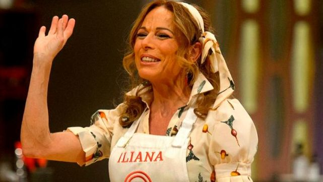 "La increíble performance de Iliana Calabró en ""MasterChef Celebrity""."